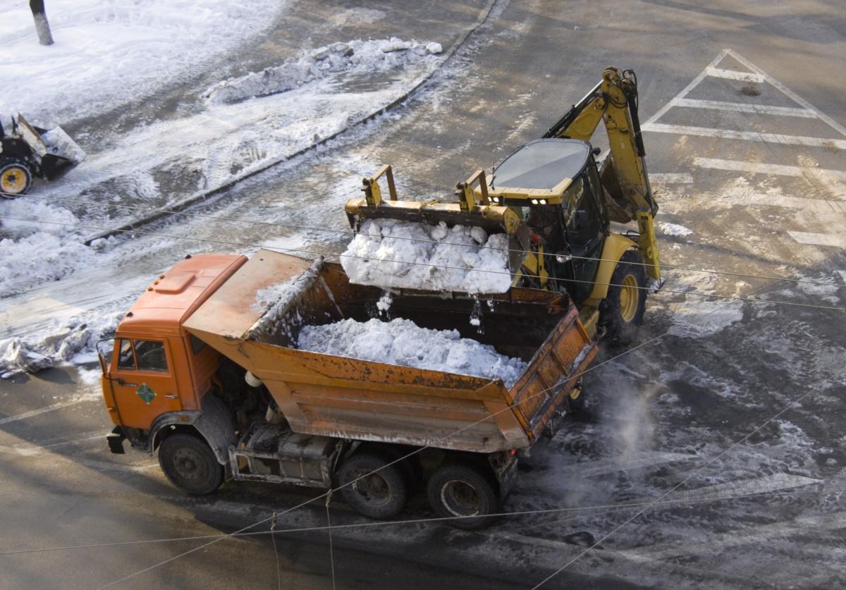Отвал для уборки снега для трактора